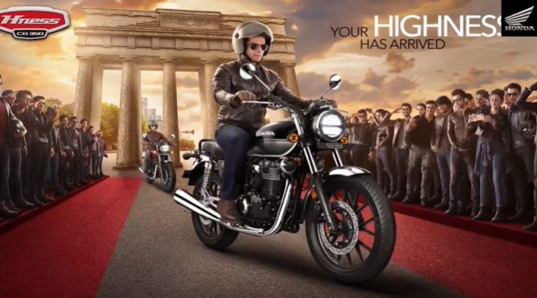Honda H'Ness CB350 Launched in India