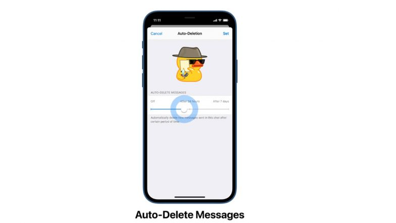 Telegram Auto-Delete Messages