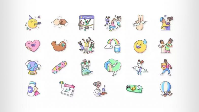 WhatsApp 'Vaccine for All' Stickers